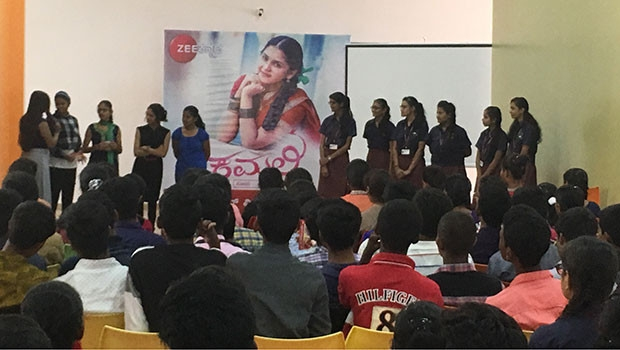 Zee Kannada launches anti-ragging campaign to promote new